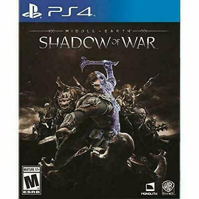 Middle Earth Shadow Of War PS4 Playstation 4