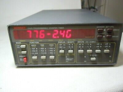 Keithley 776/r Programmable Counter-Timer And With 2.4 Ghz Option