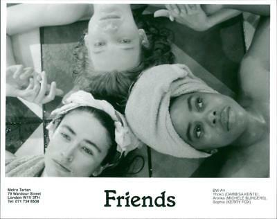 A scene from the film Friends. - Vintage photo