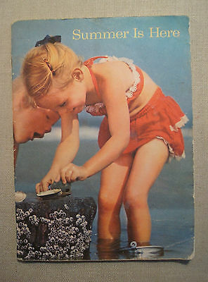 Summer is Here Bertha Morris Parker Childrens Science Book Primary 1958