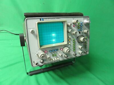 Vintage HP 1740A 100 MHz 2 Channel Variable Persistence Oscilloscope
