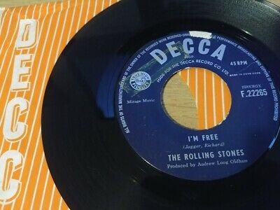 The Rolling Stones - Get Off My Cloud - HONG KONG - 1965 - RARE - DECCA F.22265