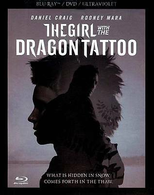The Girl With the Dragon Tattoo (Blu-ray Disc, 2012,