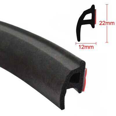 4M Universal P Car Door Auto Noise Rubber Edge Seal Weather Strip Weatherstrip
