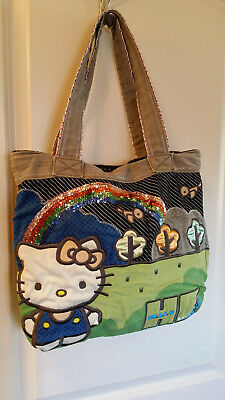 c4e9a369f LOUNGEFLY HELLO KITTY Purse Patchwork Sanrio - $49.00 | PicClick