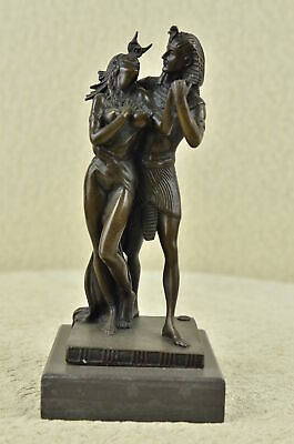 Beautiful Egyptian Queen Nefertiti Feron Egypt king Bronze Statue Figure Decor
