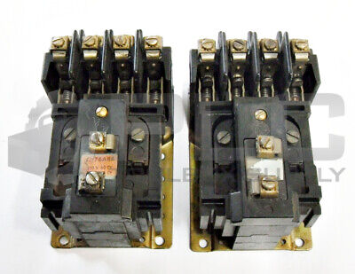 Lot Of 2 Allen Bradley 700-Br400A1 Control Relay 120Vac Coil 4Pole Ser A