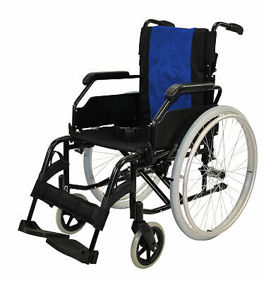 "Greencare Easy 1 Self Propelled Wheelchair 17"" Width"