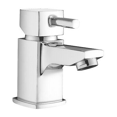 ENKI BT7902 Small Mini Basin Mixer Tap for Cloakroom Bath Bathroom Chrome STELLA