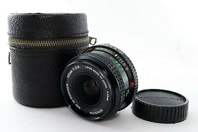 MINOLTA MD W.ROKKOR 35mm f/2.8 Wide Angle MF Lens From Japan [Exc+] #404761