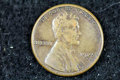 Estate Find 1925 - S Lincoln Wheat Cent!!  #J01354