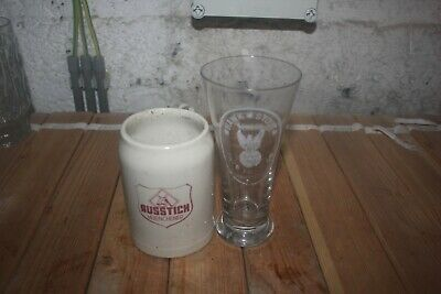 2 Verre Lomprez Hawk Stout London Ausstich Muenchener Cavenaille Stout