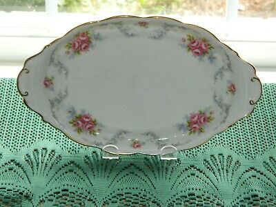 Vintage Royal Albert TRANQUILLITY TRANQUILITY Oval Tray for cream & sugar