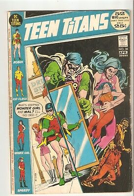 Teen Titans #38 (Apr 1972) VG+ 4.5  52 pg Bronze Age giant