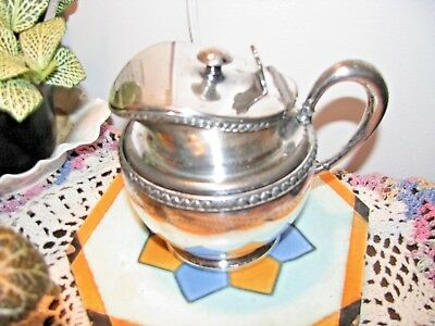 Antique Syrup Pitcher - Rogers Smith Meriden Ct.-Quadruple Plate - #1991