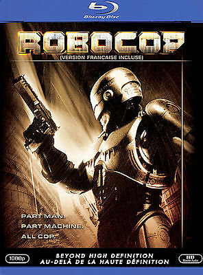 Robocop (Blu-ray Disc, 2007, Canadian)M