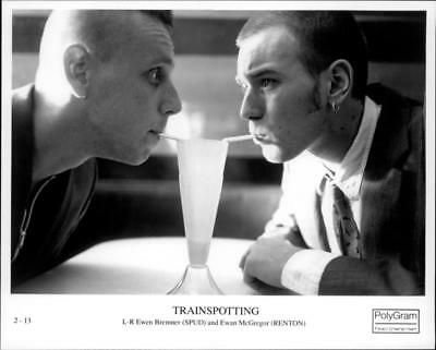 A scene from the film Trainspotting. - Vintage photo