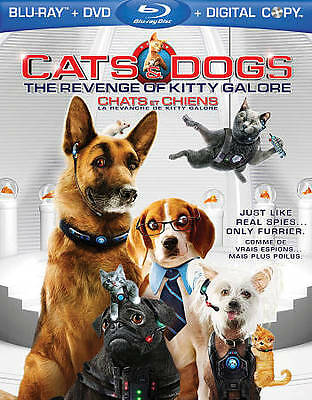 Cats  Dogs: The Revenge of Kitty Galore (Blu-ray/DVD, 2010, 2-Disc Set, Canadian