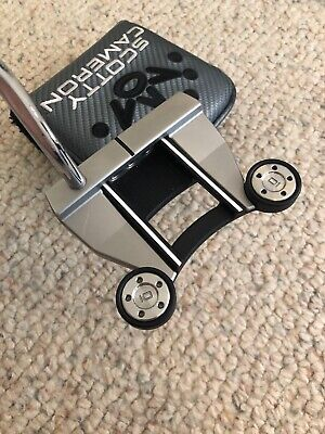 SCOTTY CAMERON FUTURA 6M Putter Heavy Weights with Headcover Right Handed RH