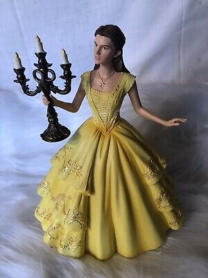 Showcase Collection Disney Beauty & The Beast Belle With Candlesticks Figure