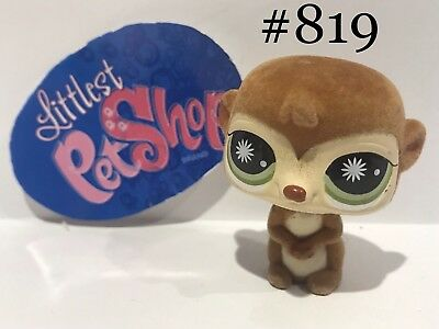 Authentic Littlest Pet Shop - Hasbro LPS - MEERKAT #819