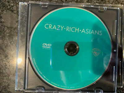 Crazy Rich Asians DVD Disc ONLY No Digital/Slip/Cover Combine SHIP