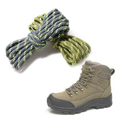 Round Athletic Shoe Lace Canvas Sneaker Shoelaces Strings Hiking Boot For Unisex