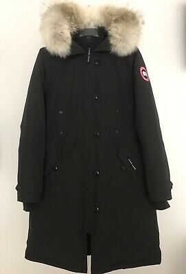 1184e424086a CANADA GOOSE Women s Kensington Down Parka Coat100% Authentic Black Size  Small