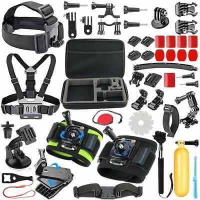 51-in-1 Sport Camera Accessories Kit GoPro Hero 7,6,5,4 Session Case Bundle NEW