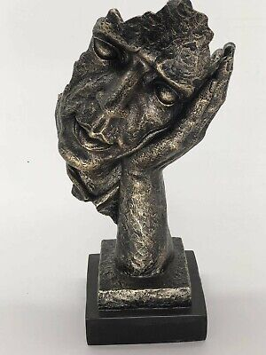 Bronze Effect Hand Made Abstract Male by Salvador Dali Ornament Gift Sale