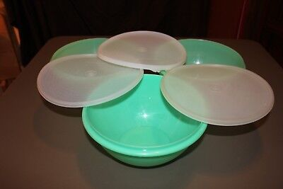 Tupperware Vintage Green Wonderlier Bowl 12 Cups/3 Quarts (2 Available) #237