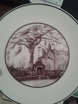 Endon Well and Elm Tree Plate.1980.