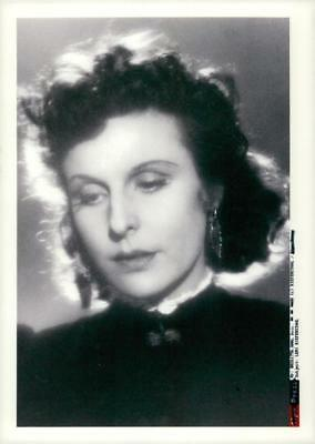 Leni Riefenstahl in 1929, the same year she acted in Arnold Fanck's film The Whi