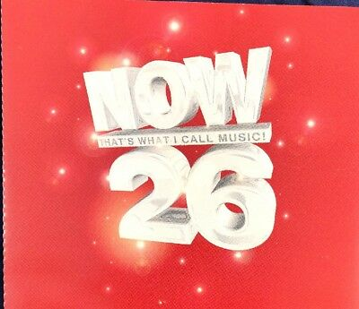 Various Artists: Now That's What I Call Music! 26 2CD Fat Box Album