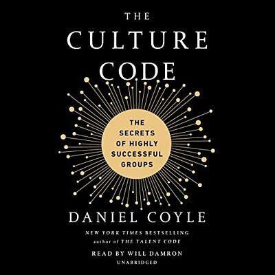NEW - The Culture Code: The Secrets of Highly Successful Groups