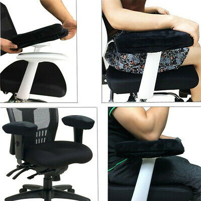 Gaming Chair Armrest Pads Soft Memory Foam Elbow Pillow Support for Most Chairs