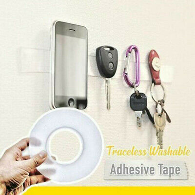 1 Roll Multifunctional Removable Double-Sided Adhesive Tape Traceless Washable
