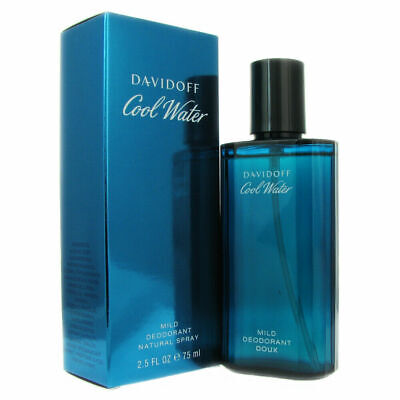 Cool Water for Men by Davidoff 2.5 oz Mild Deodorant Spray
