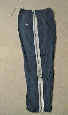 Women's Clothing Euc Nike Tan And Teal Track Pants Size M Activewear Bottoms