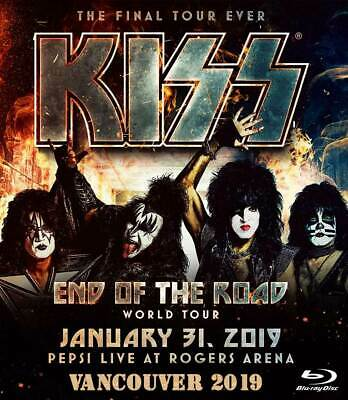 Kiss The End Of The Road In Vancouver 2019 Bd Blu Ray Disc