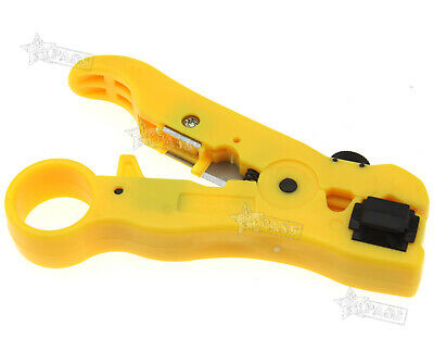 Networking Tools Rotary Coaxial Cable Wire Stripping Tool Plier RG6 RG7 RG11