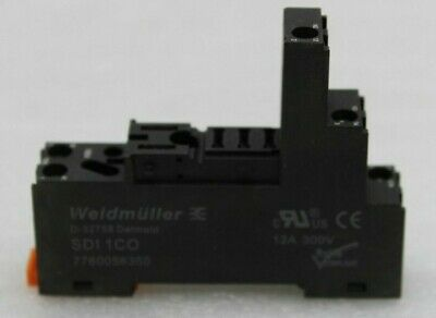 Weidmüller Sdi 1co Relay Socket Plug-In Base Mounting Base 7760056350 12a New