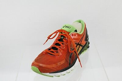 new products f2703 8fe91 MEN'S ASICS T642N Orange/Black Lace-up Athletic Running Shoes Size 11 M
