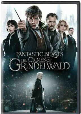 Fantastic Beasts: The Crimes of Grindelwald (DVD 2019) Free Fast Shipping 🚀