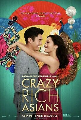 Crazy Rich Asians 2018 Dvd  Free Fast Shipping🚀