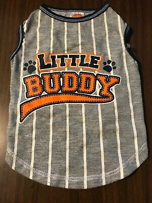 Dog Shirt Size Small Pet Puppy Clothes Clothing Little Buddy