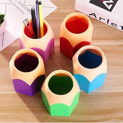 Creative Pen Vase Pencil Pot Pen Holder Stationery Desk Tidy Container