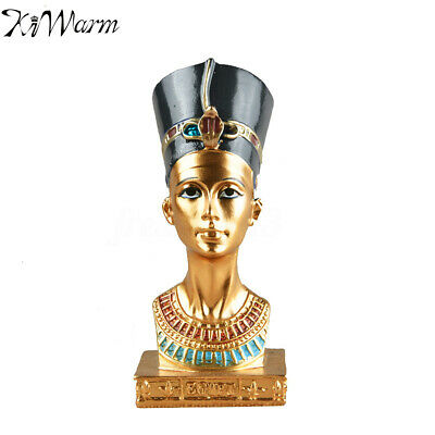 4.5'' Ancient Resin Egyptian Pharaoh Figurine Statue Sculpture Home Decoration ☆