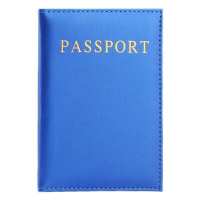 Travel Wallet Case Holder Organiser Protector Leather Passport Ticket Cover Bag