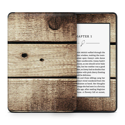 Vintage Wood Vinyl Skin Sticker Wrap to Cover, Protect & Personalise Kindle
